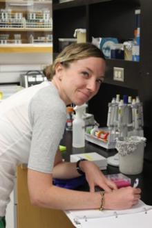 picture of Kellee Britt for the smithlab