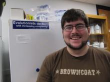 Maxwell Reitman photo for smith lab page
